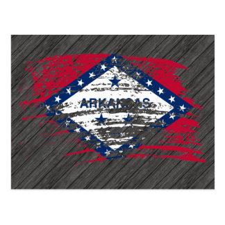 Cool Arkansan flag design Postcards