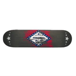 Cool Arkansan flag design Skateboards