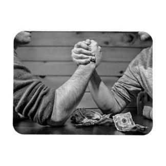 Cool Arm Wrestling magnet