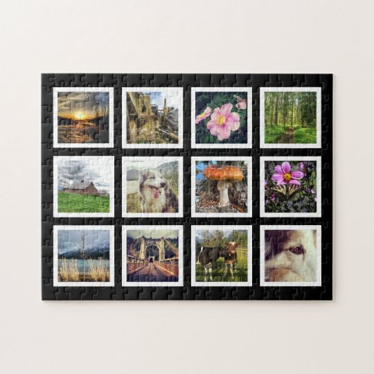 Cool Art Gallery Style Instagram Photo Showcase Jigsaw