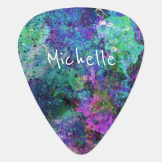 Cool Artsy Monogram Plectrum