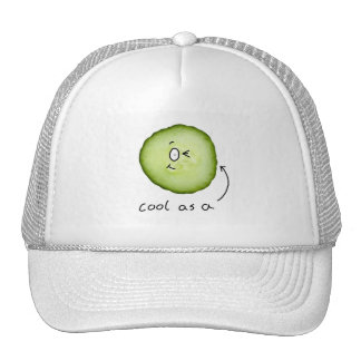 cool as a cucumber hat