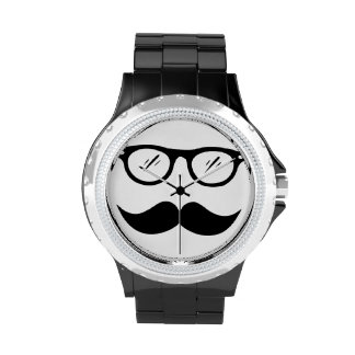 Cool as a moustache watches
