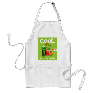 Cool as Cucumber Apron
