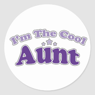 Cool Aunt Stickers