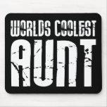 Cool Aunty Aunts Aunties : Worlds Coolest Aunt Mousemat