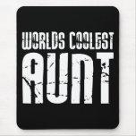 Cool Aunty Aunts Aunties : Worlds Coolest Aunt Mousemats