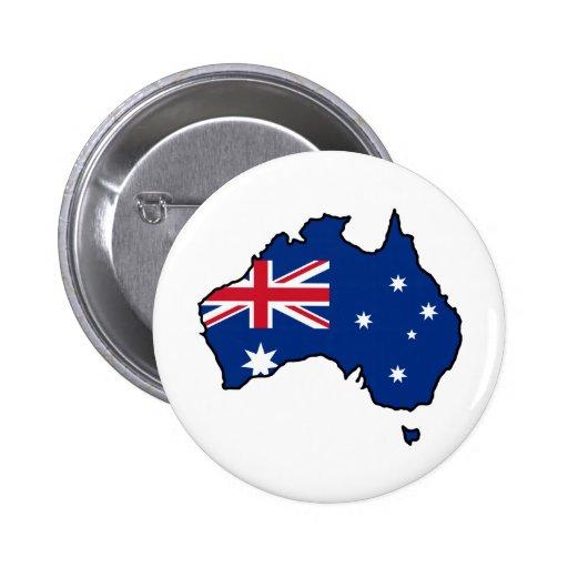 Cool Australia Pinback Buttons