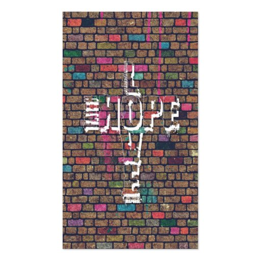 Cool awesome Faith Love Hope graffiti words Business Cards