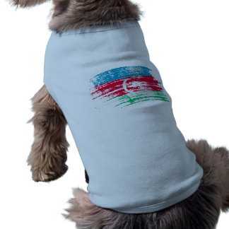 Cool Azerbaijani flag design Sleeveless Dog Shirt