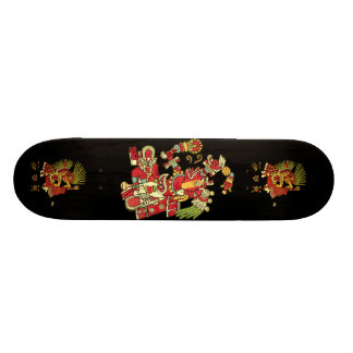 Cool Aztec Design Skateboard