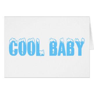Cool Baby Boy Greeting Card