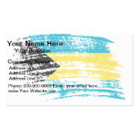 Cool Bahamian flag design Business Cards