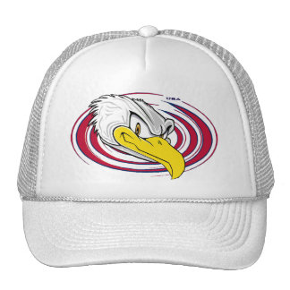 Cool Bald Eagle USA Cap