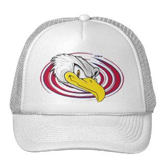 Cool Bald Eagle USA Cap
