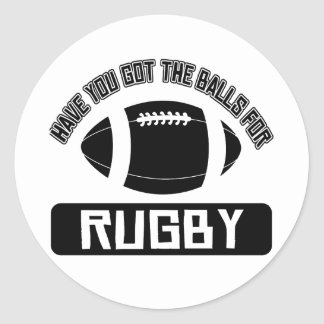 Cool Ball playing sports designs Round Sticker