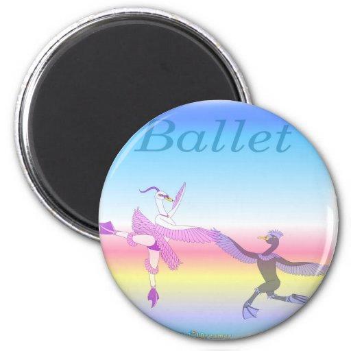 Cool Ballet gifs for kids Fridge Magnets