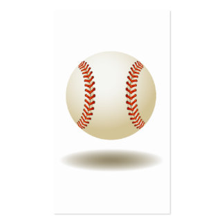 Cool Baseball Emblem Double-Sided Standard Business Cards (Pack Of 100)