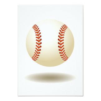 Cool Baseball Emblem Card