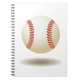 Cool Baseball Emblem Notebook