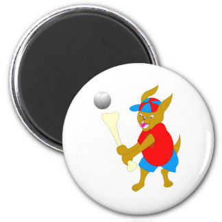 Cool Baseball kids Items 6 Cm Round Magnet