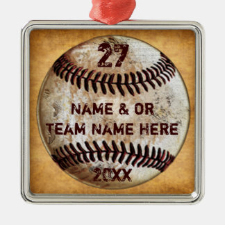 Cool Baseball Ornaments for Baseball Team Gifts