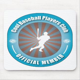 Cool Baseball Players Club Mouse Mat