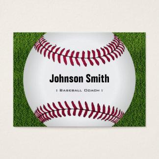 Cool Baseball Softball Coach Player Trainer Staff Business Card