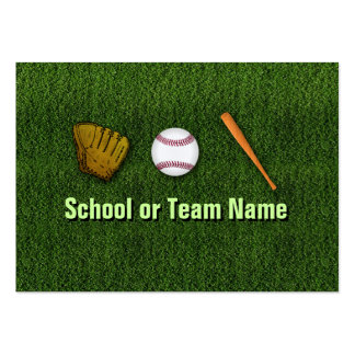 Cool Baseball Team - Coach Player Trainer Staff Business Card