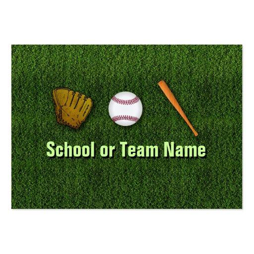 Cool Baseball Team - Coach Player Trainer Staff Business Card