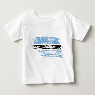 Cool Batswana flag design T-shirt