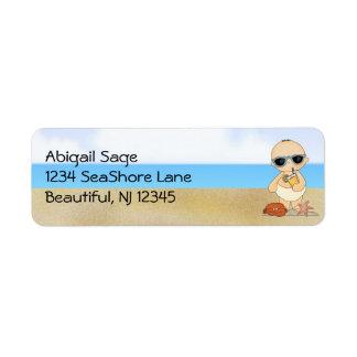 Cool Beach Baby Boy Address