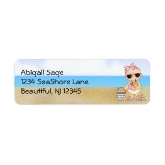 Cool Beach Baby Girl Address