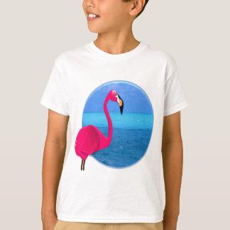 Cool Beach Flamingo T-Shirt