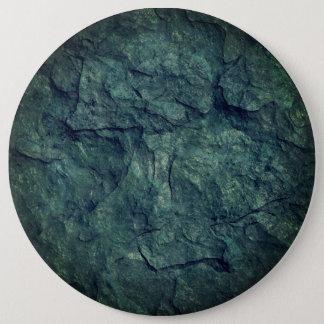 Cool beach stone texture grey round button