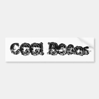 Cool Beans Bumper Sticker