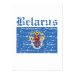 Cool belarus city flag designs post cards