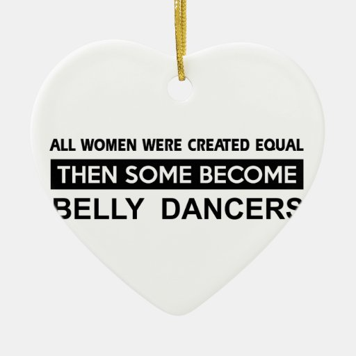 Cool Belly Dancing designs Christmas Ornaments