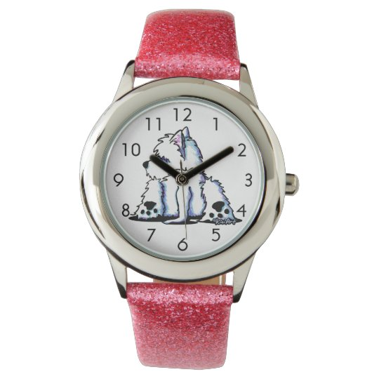 Cool Belly Westie Wrist Watch