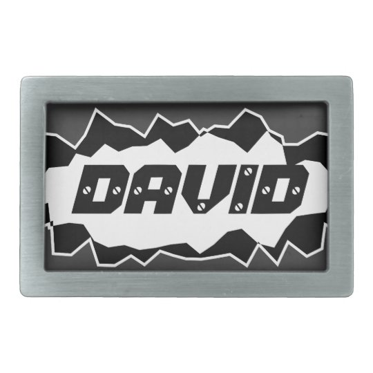 Cool belt buckle for men with personalised name