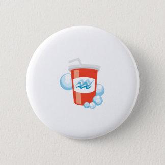 Cool Beverage 6 Cm Round Badge