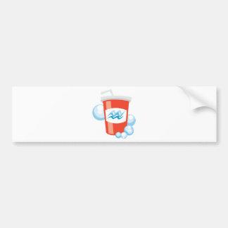 Cool Beverage Bumper Sticker