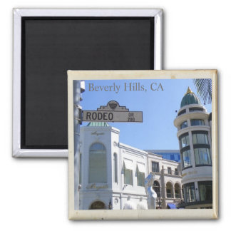 Cool Beverly Hills, Rodeo Dr. Magnet!