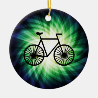 Cool Bicycle Christmas Ornament