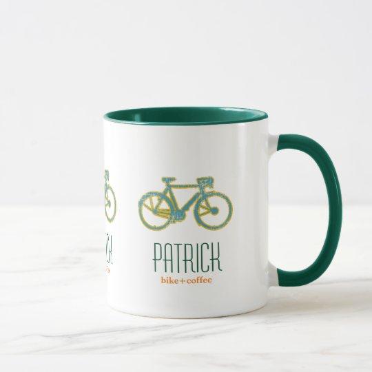 cool bicycles personalised mug