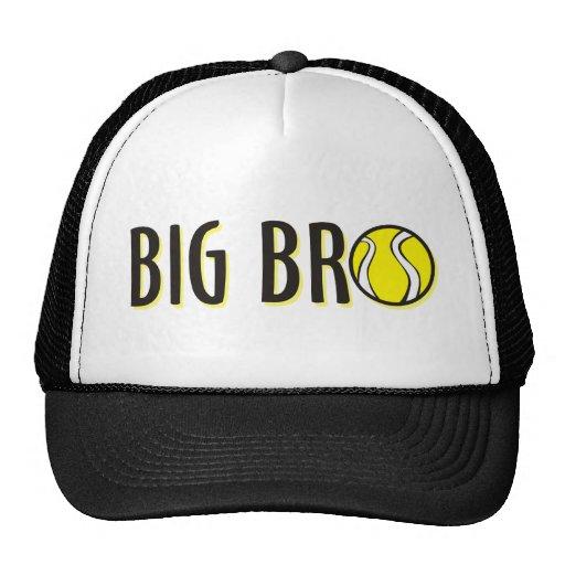 Cool Big Bro Brother Shirt - Tennis Theme Trucker Hats