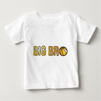 Cool Big Bro Shirt - Basketball Theme