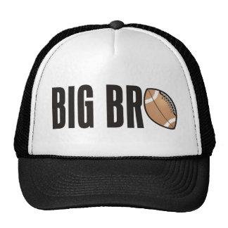 Cool Big Bro Shirt - Football Theme Cap