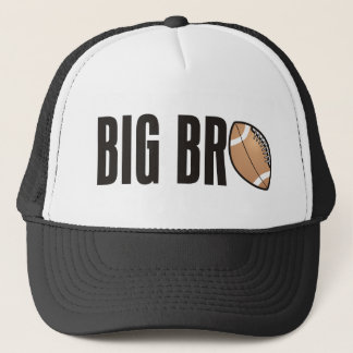 Cool Big Bro Shirt - Football Theme Trucker Hat