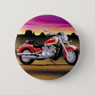 Cool bike 6 cm round badge